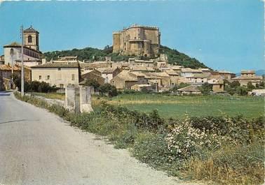 """/ CPSM FRANCE 26 """"Suze La Rousse, vue générale, le château"""""""
