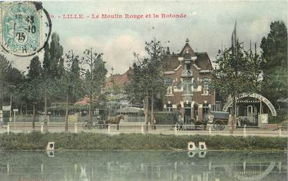 "CPA FRANCE 59 ""Lille, moulin rouge"""