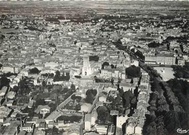 """/ CPSM FRANCE 26 """"Valence, vue panoramique aérienne et la cathédrale"""""""