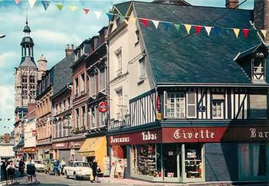 "/ CPSM FRANCE 27 ""Bernay, la rue Thiers"""