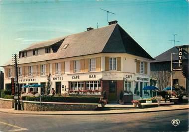 """/ CPSM FRANCE 27 """"Brionne, hôtel restaurant le logis de Brionne"""""""