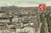 """75 Pari CPA  """"Paris, XVIII ème, Panorama du Sacré Coeur pris de l'Arc de Triomphe"""""""
