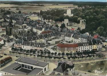 """/ CPSM FRANCE 27 """"Gisors, vue aérienne sur le château"""""""