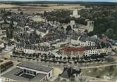 """27 Eure / CPSM FRANCE 27 """"Gisors, vue aérienne sur le château"""""""