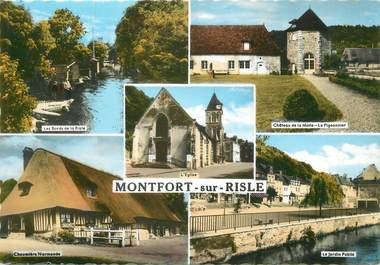 "/ CPSM FRANCE 27 ""Montfort  sur Risle"""
