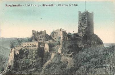 "CPA FRANCE 67 ""Ribeauvillé, Chateau Saint Ulric"""