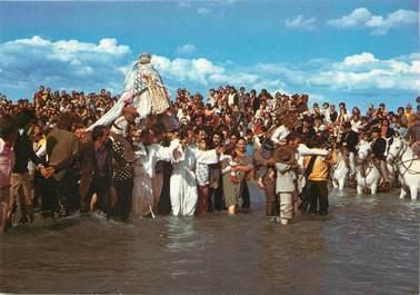 """/ CPSM FRANCE 13 """"Les Saintes Maries de la Mer, pélérinage des gitans"""""""
