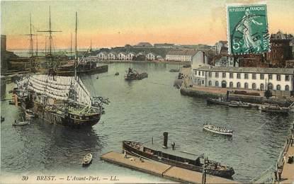 "CPA FRANCE 29 ""Brest, L'Avant port"""