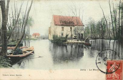"CPA FRANCE 91 ""Jarcy, le moulin"""