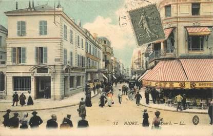 """/ CPA FRANCE 79 """"Niort, la rue Ricard"""""""