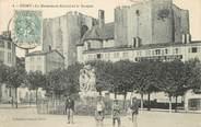 """79 Deux SÈvre / CPA FRANCE 79 """"Niort, le monument Ricard et le Donjon"""""""