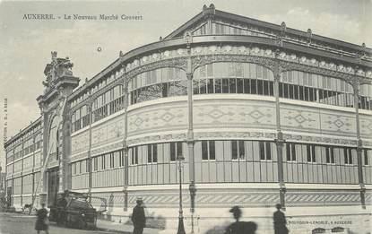 """/ CPA FRANCE 89 """"Auxerre, le nouveau marché couvert"""""""