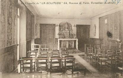 "/ CPA FRANCE 78 ""Versailles, chapelle La Solitude"""