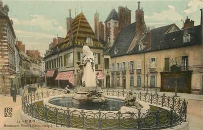 "CPA FRANCE 21 ""Dijon, monument Piron, Au vieux Chêne"""