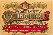 Theme ETIQUETTE ALCOOL FRONTIGNAN / FRANCE 34