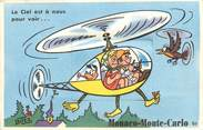 France CPA MONACO / CARTE A SYSTEME