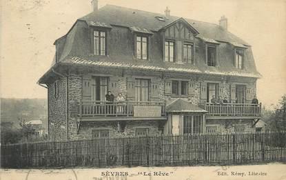 """/ CPA FRANCE 92 """"Sèvres, le rêve"""""""