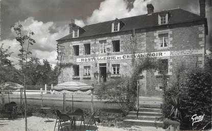 """/ CPSM FRANCE 61 """"Saint Michel des Andanes, hostellerie du cheval Noir"""""""