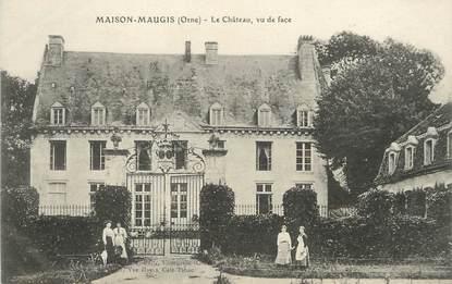 """/ CPA FRANCE 61 """"Maison Maugis, le château"""""""