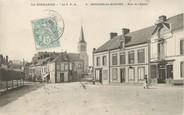 """61 Orne / CPA FRANCE 61 """"Moulins La Marche, rue de l'église"""""""