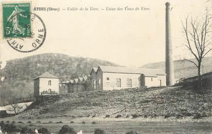 """/ CPA FRANCE 61 """"Athis, usine des Vaux de Vère"""""""