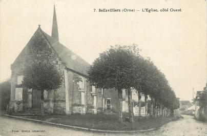 """/ CPA FRANCE 61 """"Bellavilliers, l'église"""""""