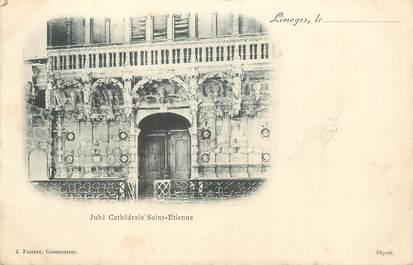 """/ CPA FRANCE 87 """"Limoges, Jubé Cathédrale Saint Etienne"""""""