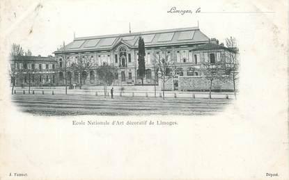 """/ CPA FRANCE 87 """"Limoges, école nationale d'art décoratif"""""""