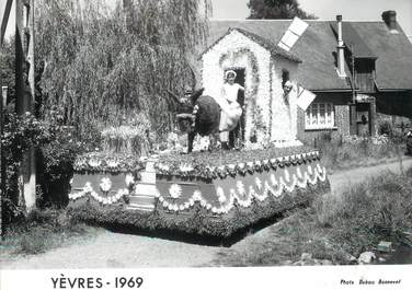 """/ CPSM FRANCE 28 """"Yèvres 1969"""""""