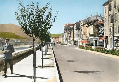 """/ CPSM FRANCE 30 """"Alès, l'avenue"""""""