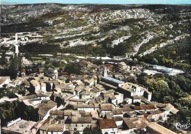 """/ CPSM FRANCE 30 """"Collias, vue générale aérienne du village"""""""