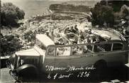 France CARTE PHOTO MONACO 1936 / AUTOMOBILE