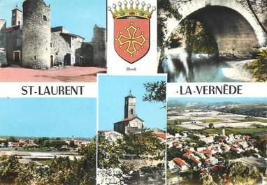 """/ CPSM FRANCE 30 """"Saint Laurent la Vernède"""""""