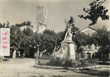 """/ CPSM FRANCE 30 """"Roquemaure, le monument aux morts"""""""