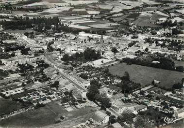 """/ CPSM FRANCE 31 """"L'Isle en Dodon, vue panoramique aérienne"""""""