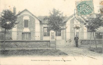"""/ CPA FRANCE 78 """"La Mairie de Mallemont"""""""