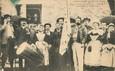 """/ CPA FRANCE 78 """"Montfort l'Amaury, pardon d'Anne de Bretagne, groupe de Bretons sur le Menez Tour"""""""