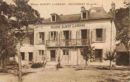 """/ CPA FRANCE 78 """"Méricourt, maison Albert Laurans"""""""