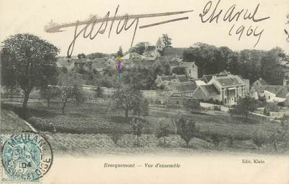 "/ CPA FRANCE 78 ""Evecquemont, vue d'ensemble"""