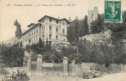 """CPA FRANCE 06 """"Menton, Le Chateau des Grimaldi"""""""