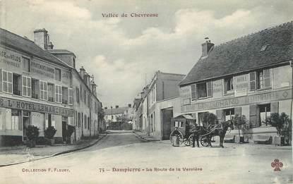 """/ CPA FRANCE 78 """"Dampierre, la route de la Verrière"""""""