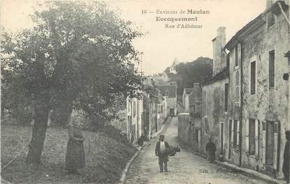 """/ CPA FRANCE 78 """"Evecquemont, rue d'Adhémar"""""""