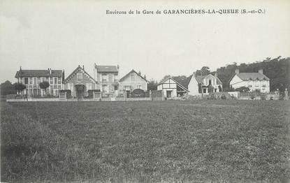 """/ CPA FRANCE 78 """"Environs de la gare de Garancières La Queue"""""""