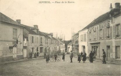 Cpa france 78 septeuil place de la mairie 78 for Agrandissement maison houilles