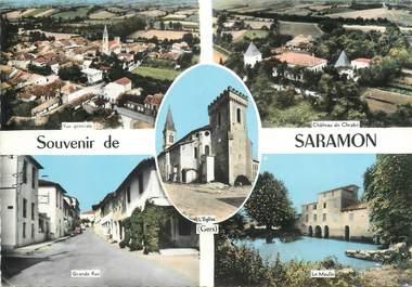 "/ CPSM FRANCE 32 ""Saramon"""