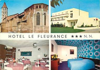 """/ CPSM FRANCE 32 """"Fleurance, hôtel le Fleurance"""""""