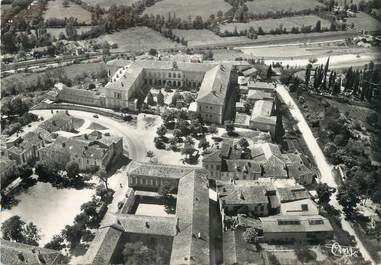 """/ CPSM FRANCE 32 """"Lectoure, vue aérienne, ancien château"""""""
