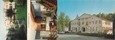 "/ CPSM FRANCE 32 ""Barbotan Les Thermes, hôtel La Roseraie"" / LIVRET"