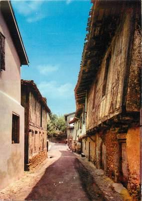 """/ CPSM FRANCE 32 """"Cazaubon, vieilles maisons, rue de l'hôpital"""""""