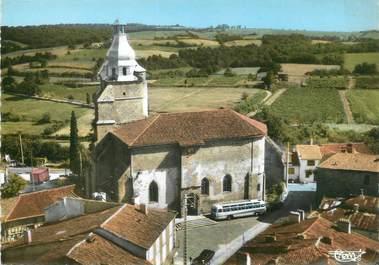 """/ CPSM FRANCE 32 """"Aignan, l'église"""""""